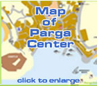 Map of Parga Greece